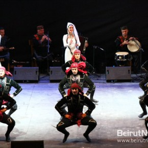 Batroun's taste of Georgian folk dance